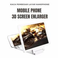Kaca Pembesar Layar Handphone - Mobile Phone 3D Screen Enlarger