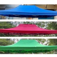 atap tenda lipat - Merah