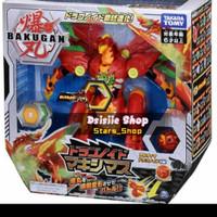 Takara Tomy Bakugan Dragonoid Maximus Original / Mainan Robot Anak