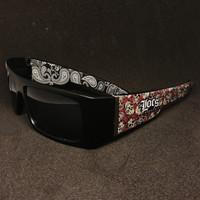 locs custom skull bandana | kacamata locs| locs sunglasses | locs