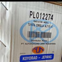Radiator Toyota Altis Matic GEN2 th 2007-2012 ( 16400-0D420) merk Koyo