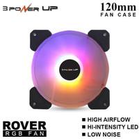 POWER UP ROVER RGB Auto Fan Casing 12CM AUTO RING LED - Fan Case 120mm