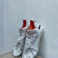 Sepatu Bola Puma Future 2.1 Netfit Grey Violet White FG