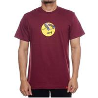 Kaos Baju Tshirt Distro Bloods Maroon