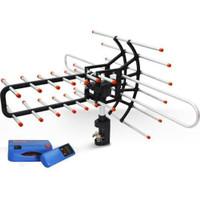 Antena Remote TV Sanex (FREE POWER SUPPLY & KABEL 10 METER) WA-850 TG