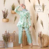 Pajamas / Piyama Set Tie Dye Muslim Rempel Busui Friendly Elsy