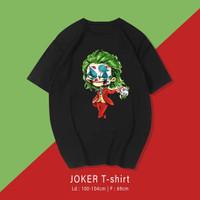 JOKER T-shirt Kaos Santai Pria / Wanita Unisex fit To XL Oversize
