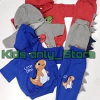 Stelan Anak Laki laki/Baju Anak Litle Dino/Stelan Joger Anak