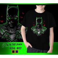 Kaos Anak Laki-Laki Batman New Glow in the dark Rhymes Baju Tanggung - Biru, 4