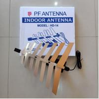 ANTENNA TV PF DIGITAL INDOOR HD 14 HD14 HD-14 / Anten TV Dalam LCD LED