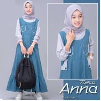 Anna Kids Gamis anak perempuan 2 varian warna Fashion muslim anak