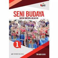 Buku Seni Budaya Kelas 1 / VII 7 Smp K13N Erlangga