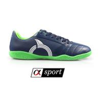 Sepatu Futsal Ortuseight MIRAGE IN - Deep Blue/White/Green [ORIGINAL]