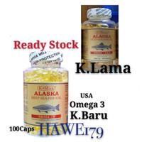 ALASKA K-MAX DEEP SEA FISH OIL - KMAX MINYAK IKAN OMEGA 3 1000MG