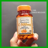 Puritan Pride Vitamin C 500 mg 100 tablet time release Vit C 500mg