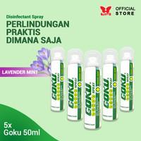 Disinfectant Spray Goku Travel Size 50ml - 5 pcs