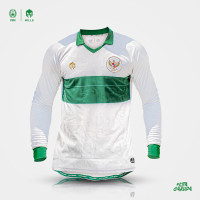 MILLS Timnas Indonesia Jersey Away Player Issue Long Sleeve 1024GR Wht - Putih, S
