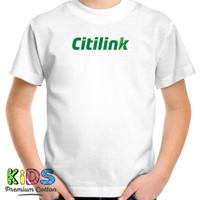 Baju Kaos Anak Citilink T-Shirt Pesawat Penerbangan Maskapai Airline