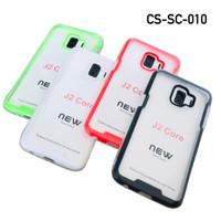 SAMSUNG GALAXY J2 CORE Case Slim & Concise Softcase Transparan 1.5mm - Hitam