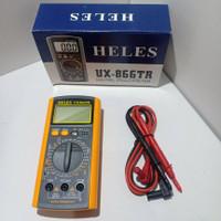 Multitester (avometer) digital / digital multimeter Heles UX-866TR