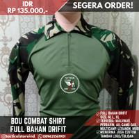 BDU Drifit Combat Shirt Loreng TNI / Loreng Malvinas - BDU Full Dryfit