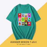 MINIONS T-Shirt / Kaos Santai Wanita / Pria Unisex fit To XL Oversize