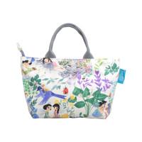 Handbag Tas Wanita Totebag Secret Garden Cream Kamalika Artprints