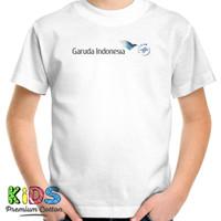 Baju Kaos Anak Garuda Indonesia T-Shirt Pesawat Penerbangan Airline