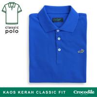 Crocodile CLAS Sapphire - Baju Kaos Kerah Pria Men Polo Original
