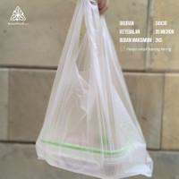 Kantong Plastik Ramah Lingkungan sz 24 - Plastik Kresek - Cassava Bag