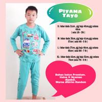Piyama Anak TAYO - Baju Tidur Anak Cowok Tayo - Piyama Anak Laki-laki