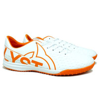 Sepatu Futsal Ortuseight Catalyst Basilisk IN - White/Ortrange