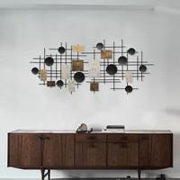 Keith Modern Art Wall Decor Hiasan Dinding Iron Wire Metal Sheet