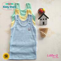 Little Q Makassar Singlet Warna Boy Baju Bayi Anak