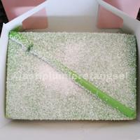 LUMIERE CAKE KUE ASIX KLEPON PANDAN CAKE BY ASHANTY ASH