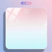 Timbangan Badan Digital Motif Pelangi - Timbangan Badan Rainbow 180kg