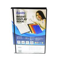 Bantex Insert Display Book PP Folio 40 pockets Black #3185I10