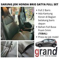 Sarung Jok Cover Jok Mobil Brio Satya Full Set Grand Original Premium