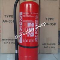Apar viking 3.5kg abc powder av-35 p pemadam api fire extinguisher