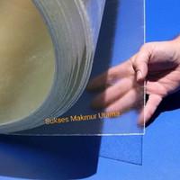Polycarbonate Sheet 2 mm / Polikarbonat Bening Solid Lembaran