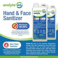 Anolyte AG Hand Sanitizer 1 Liter. Hand Sanitizer Cair Food Grade Aman