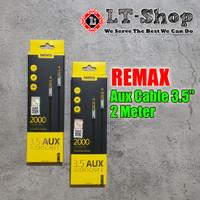 Remax RL-L200 3.5mm Aux Audio Cable 2m / Kabel Aux Audio 2 Meter