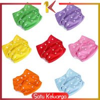 SK-P1 PART 2 POPOK Bayi Kain Kancing Cloth Diaper Clodi Bayi Dapat