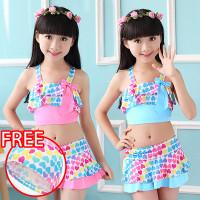 Baju Renang Anak Perempuan Swim Suit Bikini Love