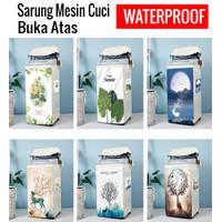 Cover Mesin Cuci Buka Atas / Pelindung Top Loading Waterproof PVC