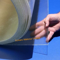 Polycarbonate Sheet 0,8 mm / Polikarbonat Bening Solid Lembaran