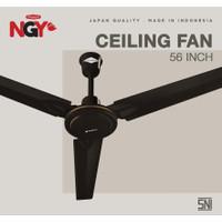 Kipas Angin Plafon NAGOYA (Ceiling Fan) 56 Baling Besi - NG56CF PLUS