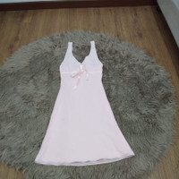 dress wanita sexi baju tidur yukensi warna pink lingkar dada 64 cm
