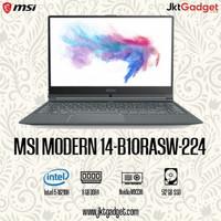 MSI MODERN 14-B10RASW-224 INTEL i5-10210U 8GB 512GB MX330 2GB 14 W10!