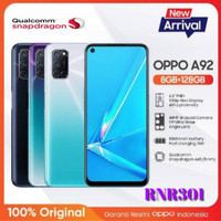 Oppo A92 Ram 8gb 128gb new garansi resmi 1 tahun murah